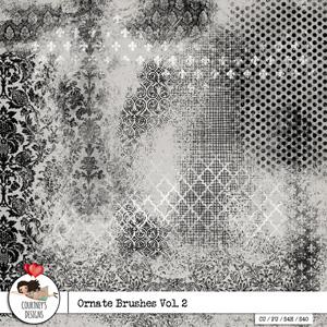 Ornate Brushes Vol. 2 - CU/PU