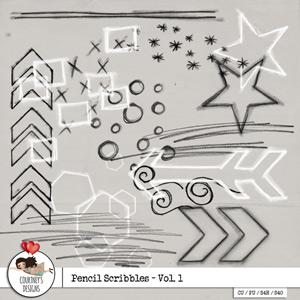Pencil Scribbles - Vol. 1 - CU/PU