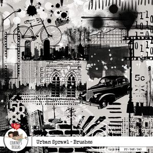 Urban Sprawl - Brushes