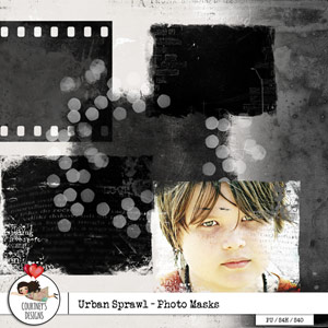 Urban Sprawl - Photo Masks