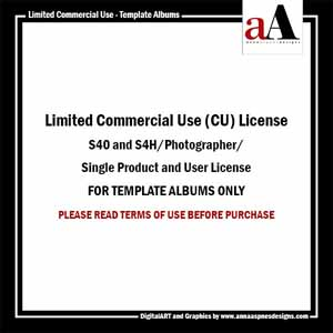Limited Commercial Use License - Albums