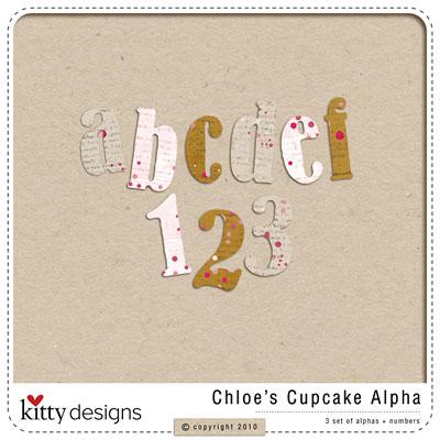 Chloe's Cupcake Alpha