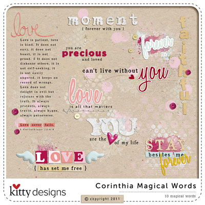 Corinthia Magical Words