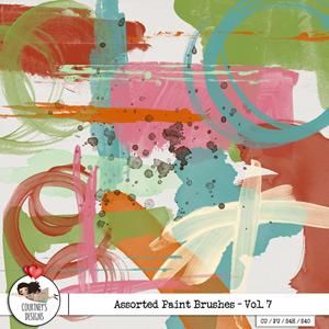 Digital Artist Tools - Assorted Paint Brushes Vol. 7