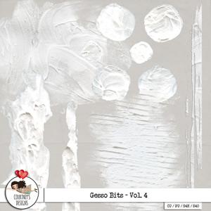 Digital Artist Tools - Gesso Textured Bits Vol. 4