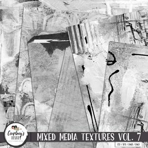 Digital Artist Tools - Mixed Media Textures Vol. 7