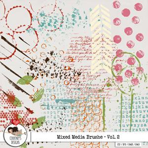 Digital Artist Tools - Mixed Media Brushes Vol. 2