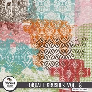 Digital Artist Tools - Ornate Brushes Vol. 6