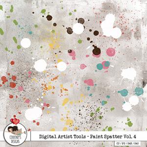 Digital Artist Tools - Paint Spatter Vol. 4