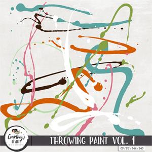 Digital Artist Tools - Throwing Paint Vol. 1