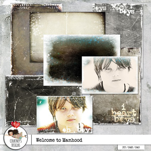 Welcome to Manhood - Photo Overlays