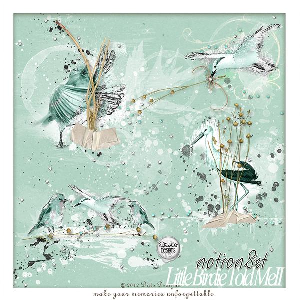 {little Birdie told meII} notionSet by Dido Designs.