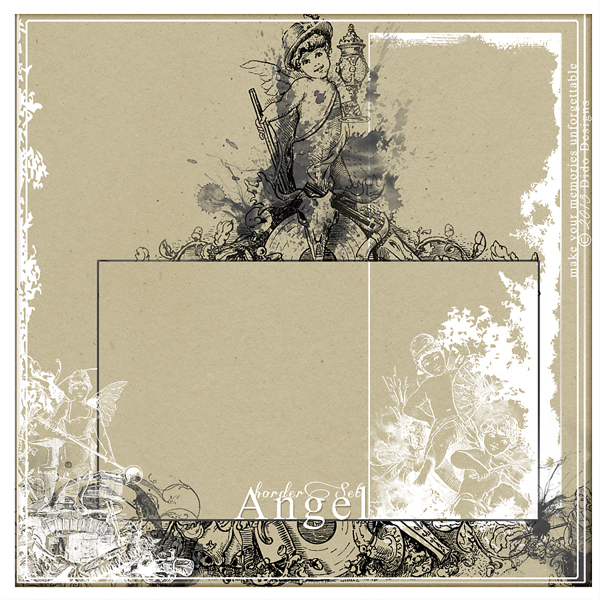 {angel} borderSet by Dido Designs.