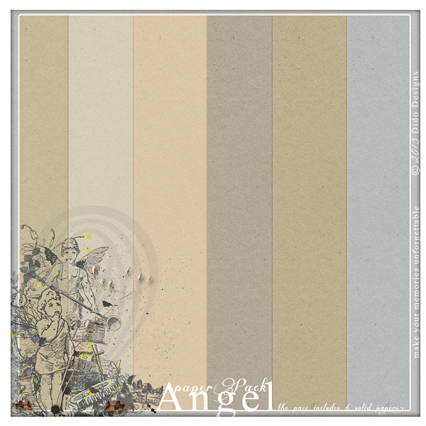 {angel} paperPack by Dido Designs.