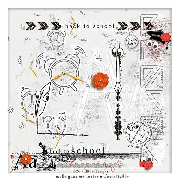 {back2school} notion Set by Dido Designs!