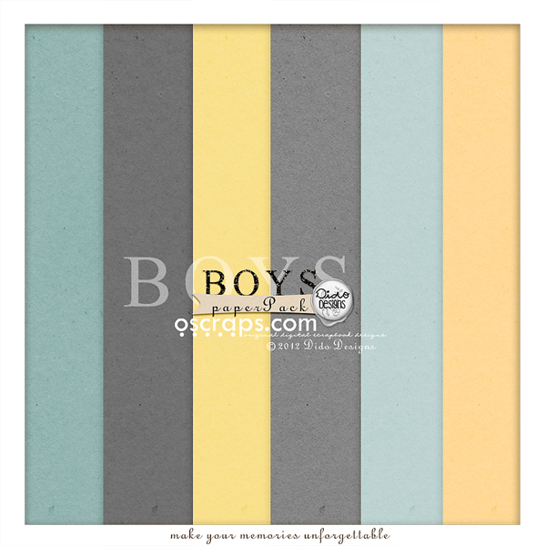 {boys} paperPack