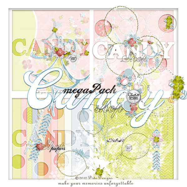 megaPack {candyShop} with FREE extra notionSet!! by Dido Designs