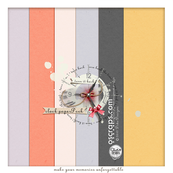 {clock} paperPack