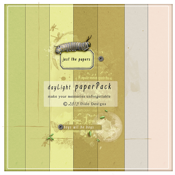 {dayLight} paperPack by Dido Designs