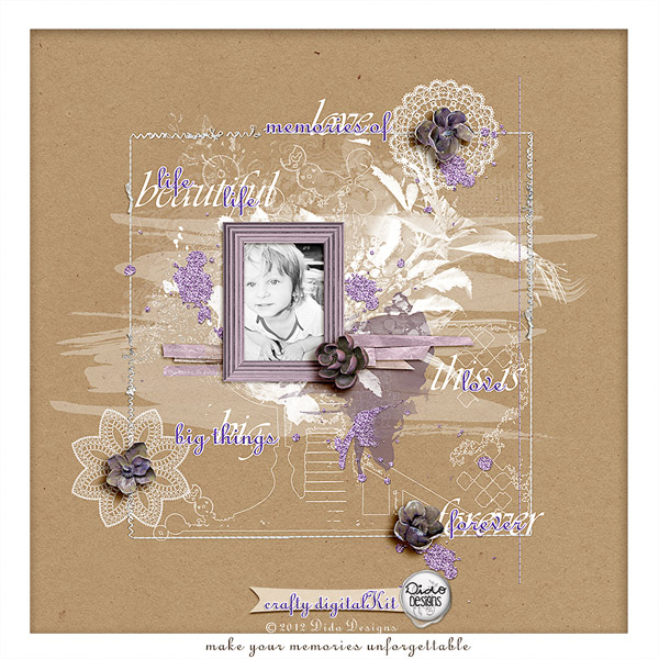 { crafty } digital kit by Dido Designs.