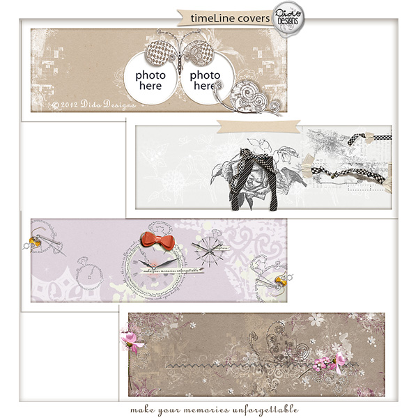 timeLine coverPackI by Dido Designs.
