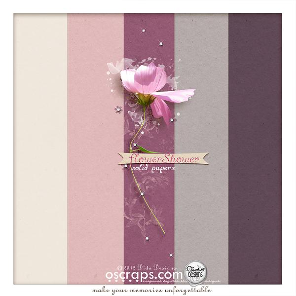 {flowerShower} paperPack