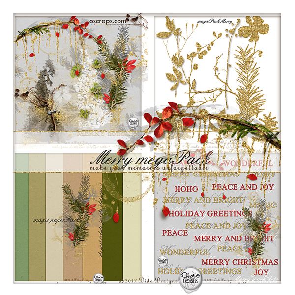 {merry} megaPack by Dido Designs.