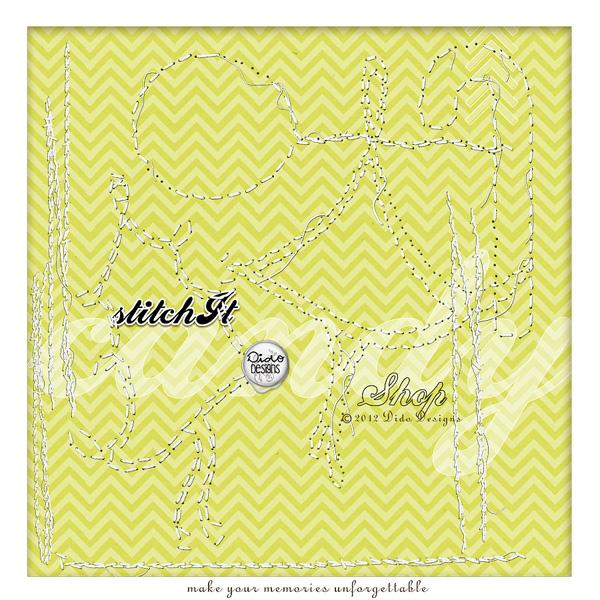 stitchIt {candyShop} by Dido Designs.