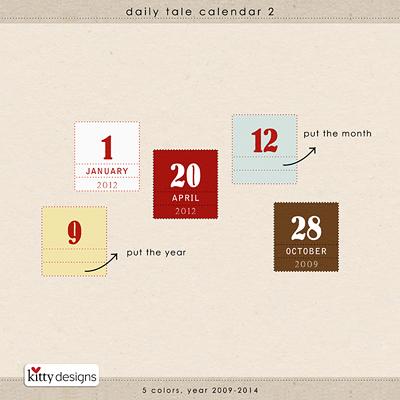 Daily Tale Calendar 2