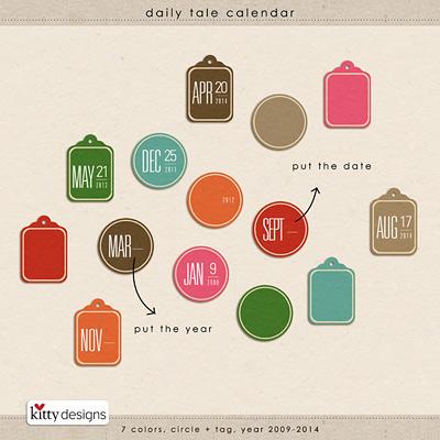 Daily Tale Calendar