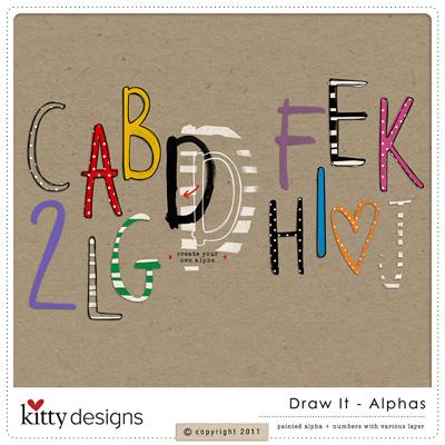 Draw It Alphas