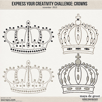 Express Your Creativity Challenge: Crowns