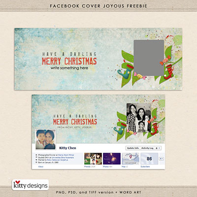 Facebook Cover Joyous Freebie