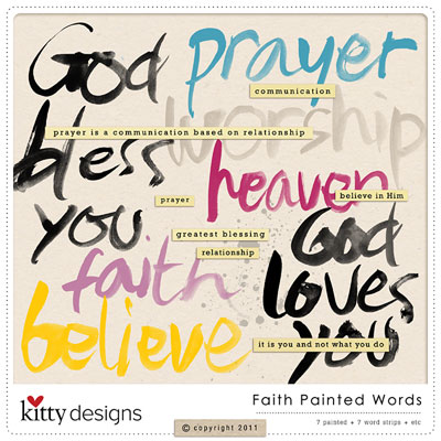 Faith Painted Words