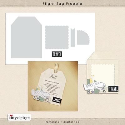 Flight Tag Freebie
