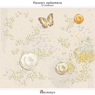 Flowers Ephemera