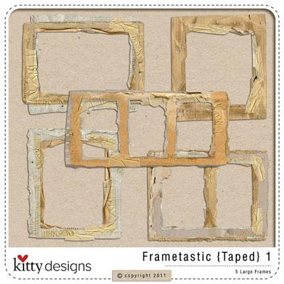 Frametastic {Taped} 1