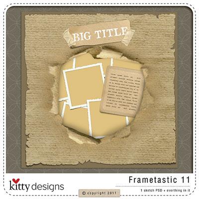 Frametastic 11 {Template}