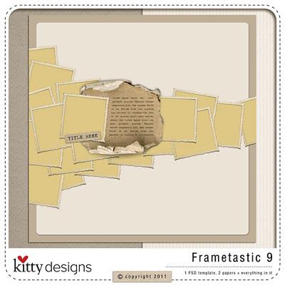 Frametastic 9 {Template}