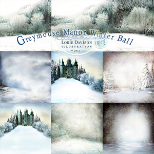 Greymouse Manor Winter Ball Winter Papers
