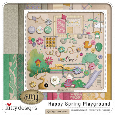 Happy Spring Playground collab with Shabby Miss Jenn (FREE GIFT with purchase)