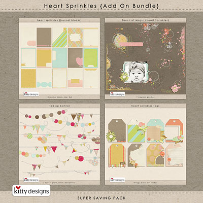 Heart Sprinkles {Add On Bundle}