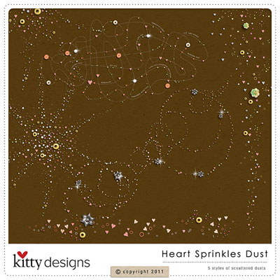 Heart Sprinkles Dust