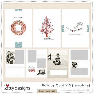 Holiday Card V.3 {Template}