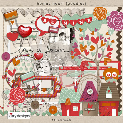 Homey Heart {Goodies}