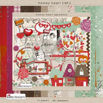 Homey Heart {Kit}