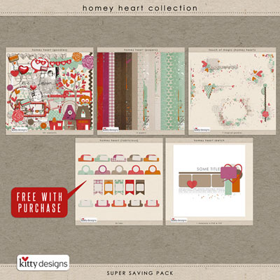 Homey Heart {Collection}