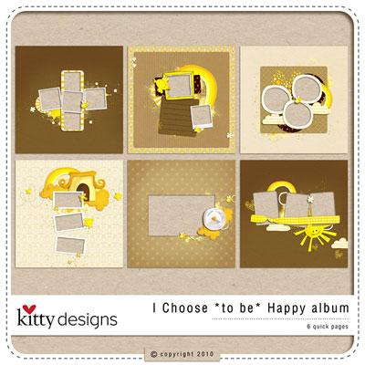 I Choose *to be* Happy Album