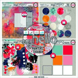 Say Hello {Painters-Toolbox}