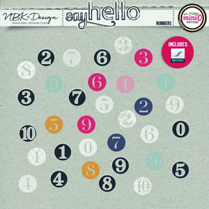 Say Hello {Numbers}